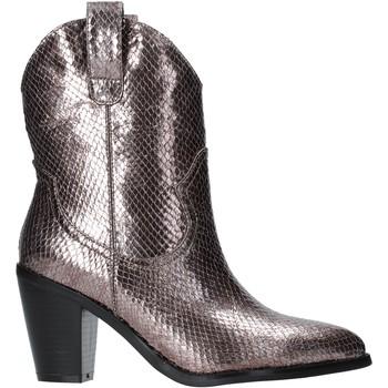 Παπούτσια Γυναίκα Μποτίνια Gold&gold B19 GU22 Γκρί