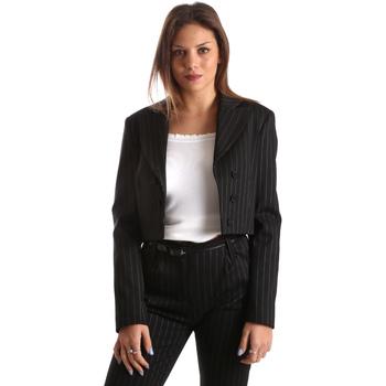 Υφασμάτινα Γυναίκα Σακάκι / Blazers Fracomina FR19FP066 Μαύρος