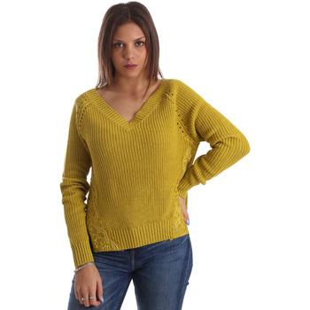 Υφασμάτινα Γυναίκα Πουλόβερ Fracomina FR19FM836 Κίτρινος