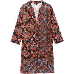 Υφασμάτινα Γυναίκα Κοντά Φορέματα Desigual 19WWVW94 Μαύρος