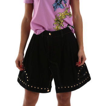 Υφασμάτινα Γυναίκα Φούστες Versace A9HUB301APD3W899 Μαύρος
