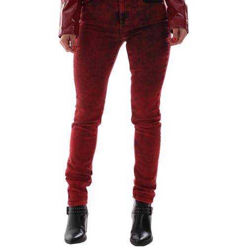 Υφασμάτινα Γυναίκα Jeans Versace A1HUB0Y0APW48537 το κόκκινο