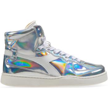 Παπούτσια Γυναίκα Ψηλά Sneakers Diadora 201.175.511 Ασήμι