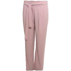Υφασμάτινα Γυναίκα Παντελόνες / σαλβάρια Smash S1829415 Ροζ