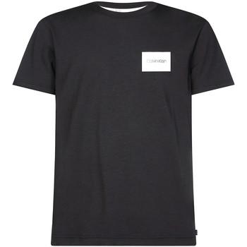Υφασμάτινα Άνδρας T-shirt με κοντά μανίκια Calvin Klein Jeans K10K104939 Μαύρος