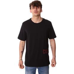 Υφασμάτινα Άνδρας T-shirt με κοντά μανίκια Calvin Klein Jeans 00GMH9K287 Μαύρος
