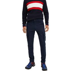 Υφασμάτινα Άνδρας παντελόνι παραλλαγής Tommy Hilfiger MW0MW12593 Μπλε