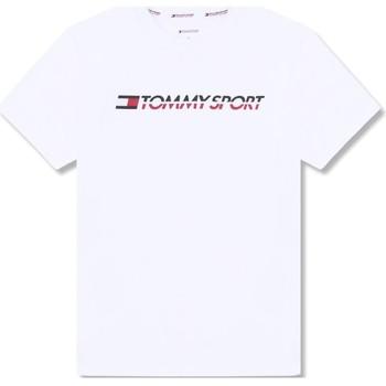 Υφασμάτινα Άνδρας T-shirt με κοντά μανίκια Tommy Hilfiger S20S200051 λευκό