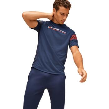 Υφασμάτινα Άνδρας T-shirt με κοντά μανίκια Tommy Hilfiger S20S200340 Μπλε