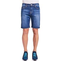 Υφασμάτινα Άνδρας Σόρτς / Βερμούδες Gaudi 011BU26009 Μπλε