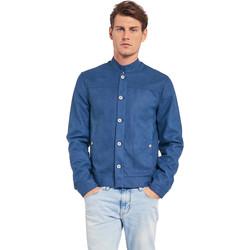Υφασμάτινα Άνδρας Σακάκια Gaudi 011BU38005 Μπλε
