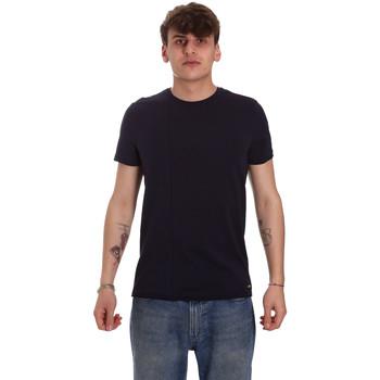 Υφασμάτινα Άνδρας T-shirt με κοντά μανίκια Gaudi 011BU64093 Μπλε