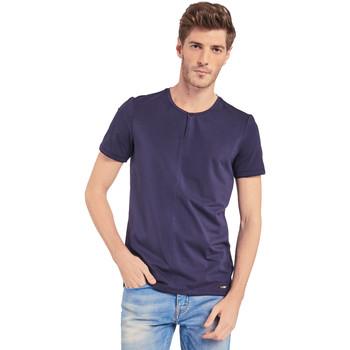 Υφασμάτινα Άνδρας T-shirt με κοντά μανίκια Gaudi 011BU64094 Μπλε