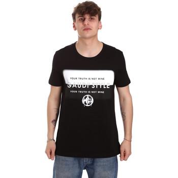T-shirt με κοντά μανίκια Gaudi 011BU64108