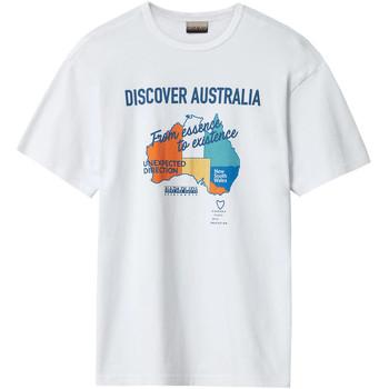 Υφασμάτινα Άνδρας T-shirt με κοντά μανίκια Napapijri NP0A4E8H λευκό