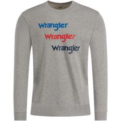 Υφασμάτινα Άνδρας Φούτερ Wrangler W6A5HAX37 Γκρί