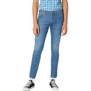 Υφασμάτινα Άνδρας Skinny Τζιν  Wrangler W18SQ1156 Μπλε