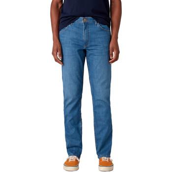 Υφασμάτινα Άνδρας Τζιν σε ίσια γραμμή Wrangler W15QQ1158 Μπλε