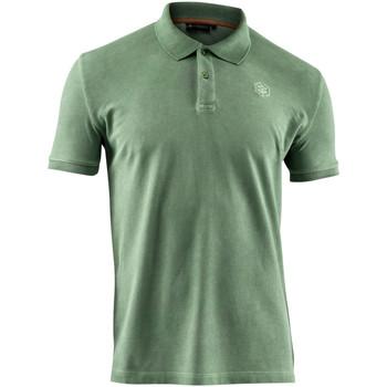 Υφασμάτινα Άνδρας Πόλο με κοντά μανίκια  Lumberjack CM45940 007 516 Πράσινος