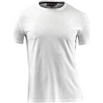 Υφασμάτινα Άνδρας T-shirt με κοντά μανίκια Lumberjack CM60343 004 517 λευκό