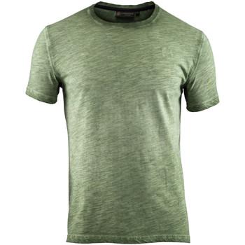 Υφασμάτινα Άνδρας T-shirt με κοντά μανίκια Lumberjack CM60343 004 517 Πράσινος