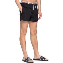 Υφασμάτινα Άνδρας Μαγιώ / shorts για την παραλία Fila 687742 Μαύρος