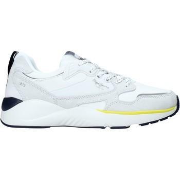 Παπούτσια Άνδρας Χαμηλά Sneakers Pepe jeans PMS30596 λευκό