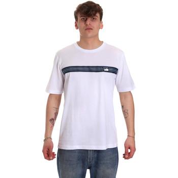 Υφασμάτινα Άνδρας T-shirt με κοντά μανίκια Antony Morato MMKS01686 FA100144 λευκό