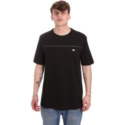 Υφασμάτινα Άνδρας T-shirt με κοντά μανίκια Antony Morato MMKS01696 FA100144 Μαύρος