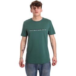 Υφασμάτινα Άνδρας T-shirt με κοντά μανίκια Antony Morato MMKS01754 FA100144 Πράσινος