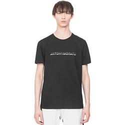 Υφασμάτινα Άνδρας T-shirt με κοντά μανίκια Antony Morato MMKS01754 FA100144 Μαύρος