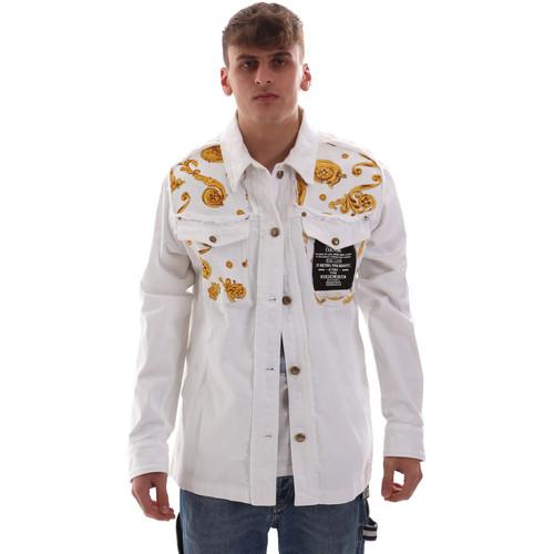 Υφασμάτινα Άνδρας Σακάκια Versace C1GVB92GHRC33003 λευκό