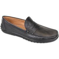 Παπούτσια Άνδρας Μοκασσίνια Valleverde 11840 Μαύρος