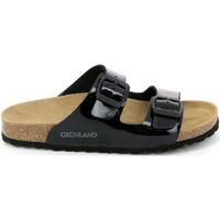 Παπούτσια Γυναίκα Τσόκαρα Grunland CB1035 Μαύρος