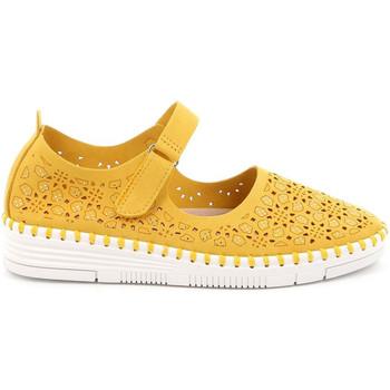 Παπούτσια Γυναίκα Μπαλαρίνες Grunland SC4911 Κίτρινος