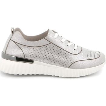 Παπούτσια Γυναίκα Χαμηλά Sneakers Grunland SC4905 Ασήμι