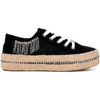 Παπούτσια Γυναίκα Χαμηλά Sneakers Café Noir DG934 Μαύρος