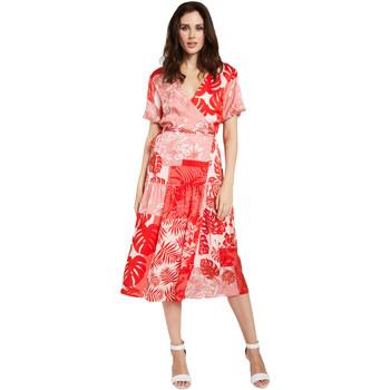 Υφασμάτινα Γυναίκα Κοντά Φορέματα Gaudi 011FD15014 το κόκκινο