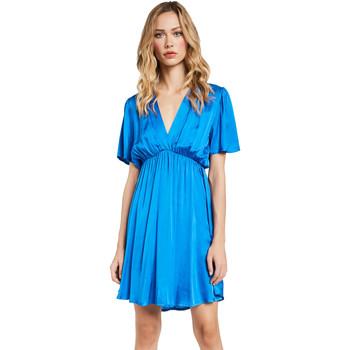 Υφασμάτινα Γυναίκα Κοντά Φορέματα Gaudi 011FD15061 Μπλε