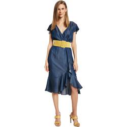 Υφασμάτινα Γυναίκα Κοντά Φορέματα Gaudi 011BD16001 Μπλε