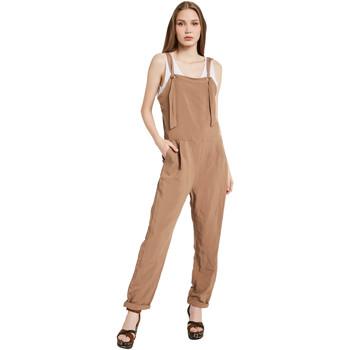 Υφασμάτινα Γυναίκα Ολόσωμες φόρμες / σαλοπέτες Gaudi 011BD25049 καφέ