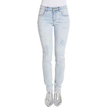 Υφασμάτινα Γυναίκα Skinny Τζιν  Gaudi 011BD26025 Μπλε