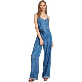 Υφασμάτινα Γυναίκα Ολόσωμες φόρμες / σαλοπέτες Gaudi 011BD26038 Μπλε