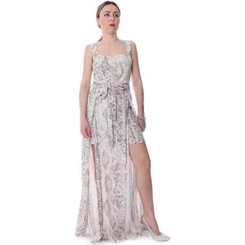 Υφασμάτινα Γυναίκα Ολόσωμες φόρμες / σαλοπέτες Fracomina FR20SP506 Μπεζ