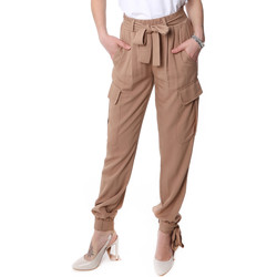 Υφασμάτινα Γυναίκα παντελόνι παραλλαγής Fracomina FR20SP127 Μπεζ