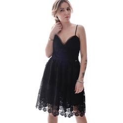 Υφασμάτινα Γυναίκα Κοντά Φορέματα Fracomina FR20SP531 Μαύρος