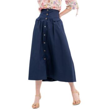 Υφασμάτινα Γυναίκα Φούστες Fracomina FR20SP133 Μπλε
