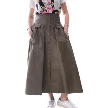 Υφασμάτινα Γυναίκα Φούστες Fracomina FR20SP133 Πράσινος