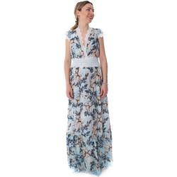 Υφασμάτινα Γυναίκα Μακριά Φορέματα Fracomina FR20SP432 Μπλε