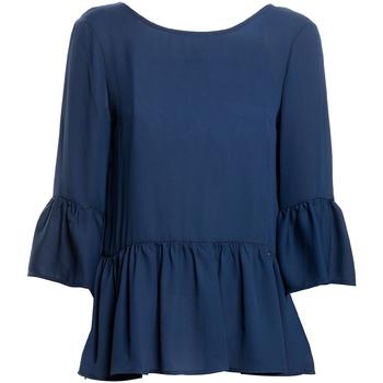 Υφασμάτινα Γυναίκα Μπλούζες Fracomina FR20SP040 Μπλε